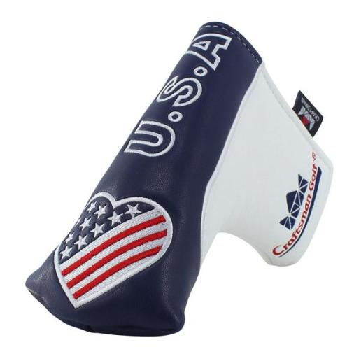USA_Flag_Sweet_heart_Blade_Putter_Head_Cover_With_Ball_Marker_Holder_1_grande