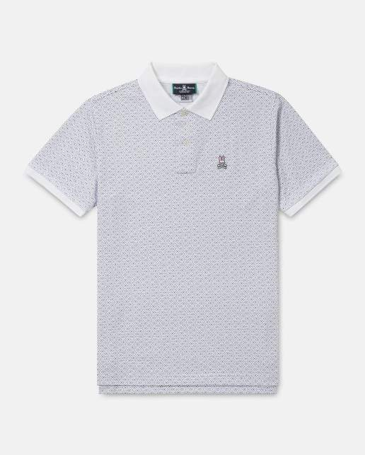 mens twizell polo - white